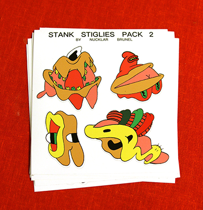 Stank Stiglies Sticker Pack 2