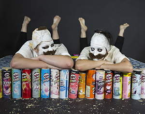 Pringles Man Photoshoot